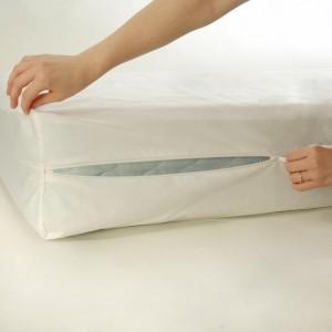 Cotton Dust Mite Allergy Mattress Cover Queen Sized